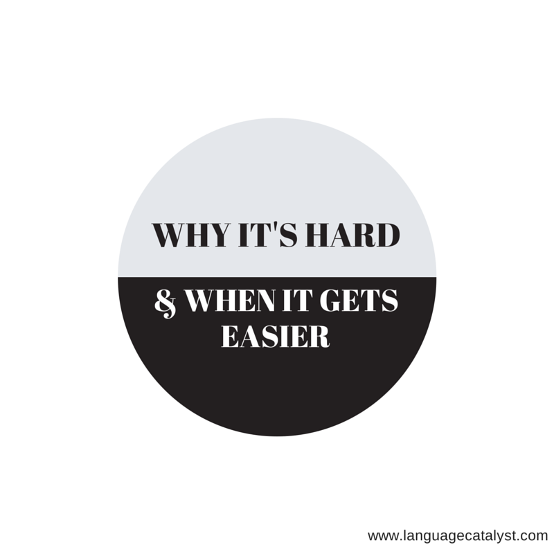 why it's hard and when it gets easier