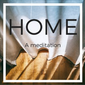 HOME meditation icon