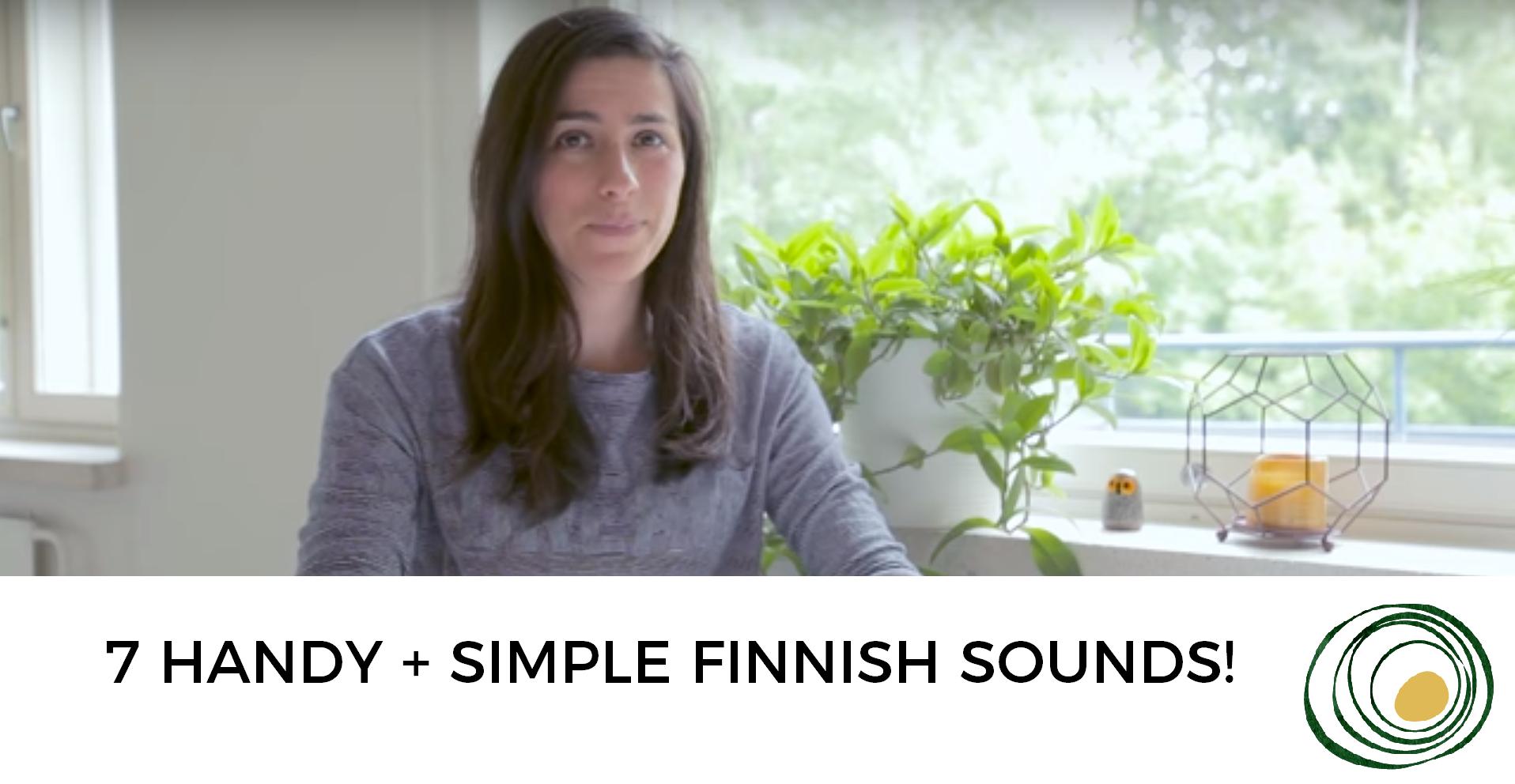 7 SIMPLE finnish sounds screenshot
