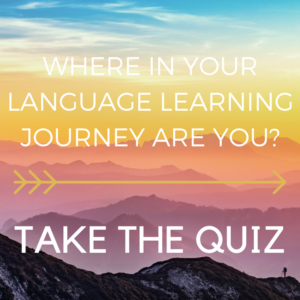 language quiz graphic - canva 800 x 800 px