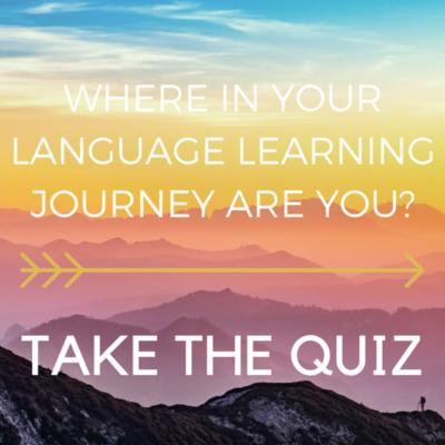 language quiz graphic - canva 800 x 800 px